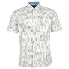 Pierre Cardin Sleeve Geo férfi ing fehér pöttyös M