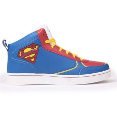 DC Comics Superman férfi magas szárú edzőcipő kék 42