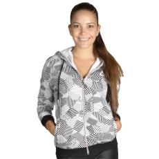 Le Coq Sportif Core Fancy Maric Fz Hood W női cipzáras pulóver szürke L