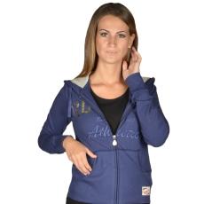 Russell Athletic Női cipzáras pulóver kék M