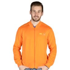 Adidas Mono Color Sst férfi kapucnis cipzáras pulóver narancs L