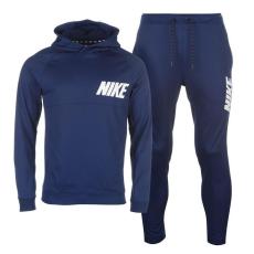 Nike AV15 férfi kapucnis melegítő szett kék M