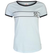 SoulCal Deluxe Baseball Strip női póló kék XXS