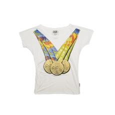Dorko Olimpia Noi T-shirt női póló fehér M