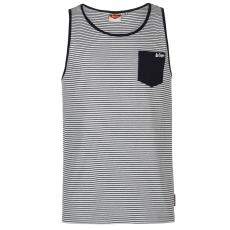 Lee Cooper Fashion férfi trikó sötétkék csíkos L
