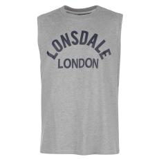 Lonsdale Box Tank férfi trikó szürke S