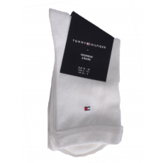 Tommy Hilfiger 2 Pár női magasszárú zokni fehér 39/42