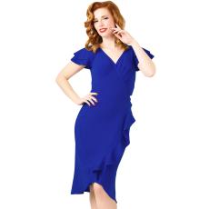 Csakcsajok Kék 50s évek ruha