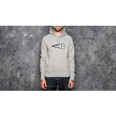 Nike SB Icon Banner Pullover Hoodie Medium Grey Heather