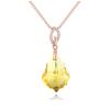 Ragyogj.hu Eliza- Swarovski kristályos ezüst nyaklánc-sárga