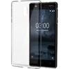 Nokia 3 gyári slim hátlap tok, átlátszó, CC-103