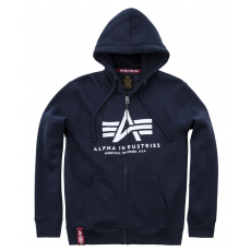 Alpha Indsutries Basic Zip Hoody - navy