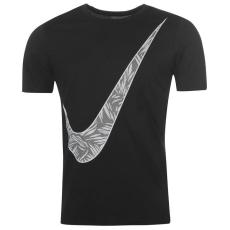 Nike Palm Swoosh férfi pamut póló fekete S