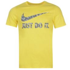 Nike JDI Swoosh QTT férfi póló sárga XXL