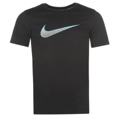 Nike Weekend Offender Sander Stripe férfi póló fekete XXL