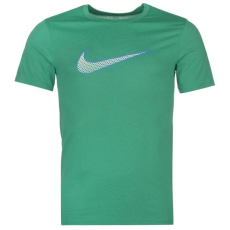 Nike Weekend Offender Sander Stripe férfi póló zöld L