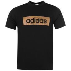 Adidas CamoLinea QT81 férfi póló fekete XXL