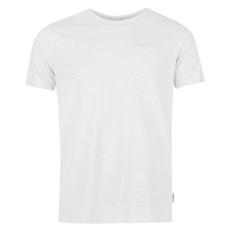 Pierre Cardin Raw Edge férfi kerek nyakú póló fehér M