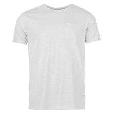 Pierre Cardin Raw Edge férfi kerek nyakú póló szürke XXL
