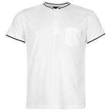 Pierre Cardin Pique Henley férfi póló fehér L