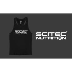 Scitec Nutrition SCITEC RACERBACK BLACK TANK TOP