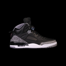 Nike Air Jordan Spizike Black Cement GS