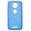 egyéb Szilikon védõ tok / hátlap - FLEXI - KÉK - Motorola Moto C Plus