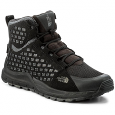 The North Face Bakancs THE NORTH FACE - Mountain Sneaker Mid Wp T939VWNNE Tnf Black/Smoked Pearl Grey