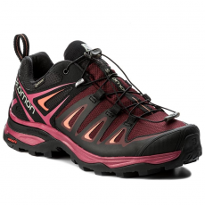 Salomon Bakancs SALOMON - X Ultra 3 Gtx W GORE-TEX 398681 20 V0 Tawny Port/Black/Living Coral