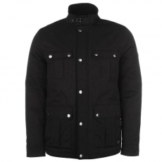 Firetrap 4 Pocket férfi kabát fekete S