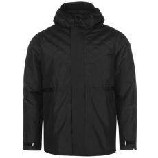 No Fear Classic férfi kapucnis cipzáras kabát fekete XL
