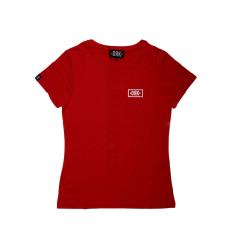 Dorko Drk Circle T-shirt Women Red női póló piros S