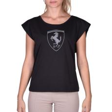 Puma Ferrari Big Shield Tee női póló fekete L
