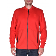 Puma Ferrari Sweat Jacket férfi parka kabát piros XXL