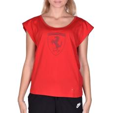 Puma Ferrari Big Shield Tee női póló piros XL