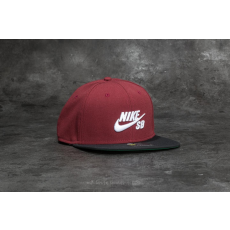 Nike SB Icon Pro Cap Dark Team Red/ Black/ Pine Green/ White
