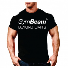 GymBeam Clothing Póló Beyond Limits Black White - GymBeam