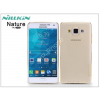 Nillkin Samsung SM-A500F Galaxy A5 szilikon hátlap - Nillkin Nature - aranybarna