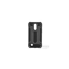 Forcell Armor hátlap tok LG K10 (2017), fekete tok és táska