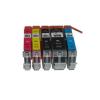 Canon CLI-551 Bk, C,M,Y + PGI-550Bk multipack utángyártott tintapatron