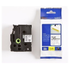 Brother TZ-S261 / TZe-S261, 36mm x 8m, fekete nyomtatás / fehér alapon, eredeti szalag
