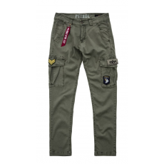 Alpha Industries Petrol Patch Pant - olive