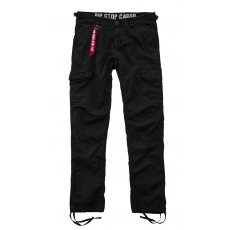 Alpha Indsutries RIP STOP CARGO PANT - fekete
