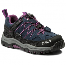 CMP Bakancs CMP - Kids Rigel Mid Treking Shoe Wp 3Q13244 B.Blue/Purple