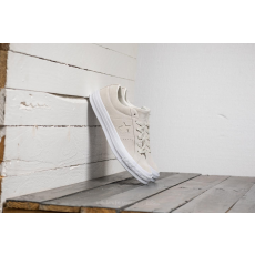 Converse One Star OX Egret/ Egret/ White