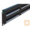 egyéb UTP Cat5e patch panel, 48 portos