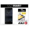 Eazyguard Nokia 5 gyémántüveg képernyővédő fólia - Diamond Glass 2.5D Fullcover - fekete
