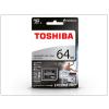 Toshiba 64 GB microSDXC™ UHS-I U3 Class 10 memóriakártya + SD adapter - Exceria M401 Pro