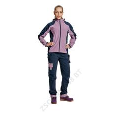 Cerva YOWIE nadrág női navy/világos lila