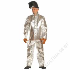Aluminizált védőkabát, 80 cm